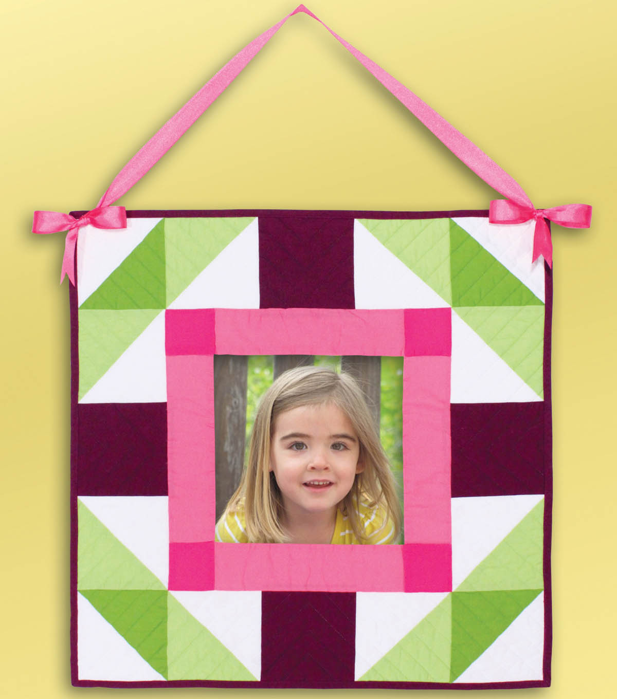 Precious Photo Quilted Wall Hanging