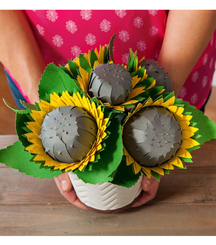 Sunflowers In Vase Joann
