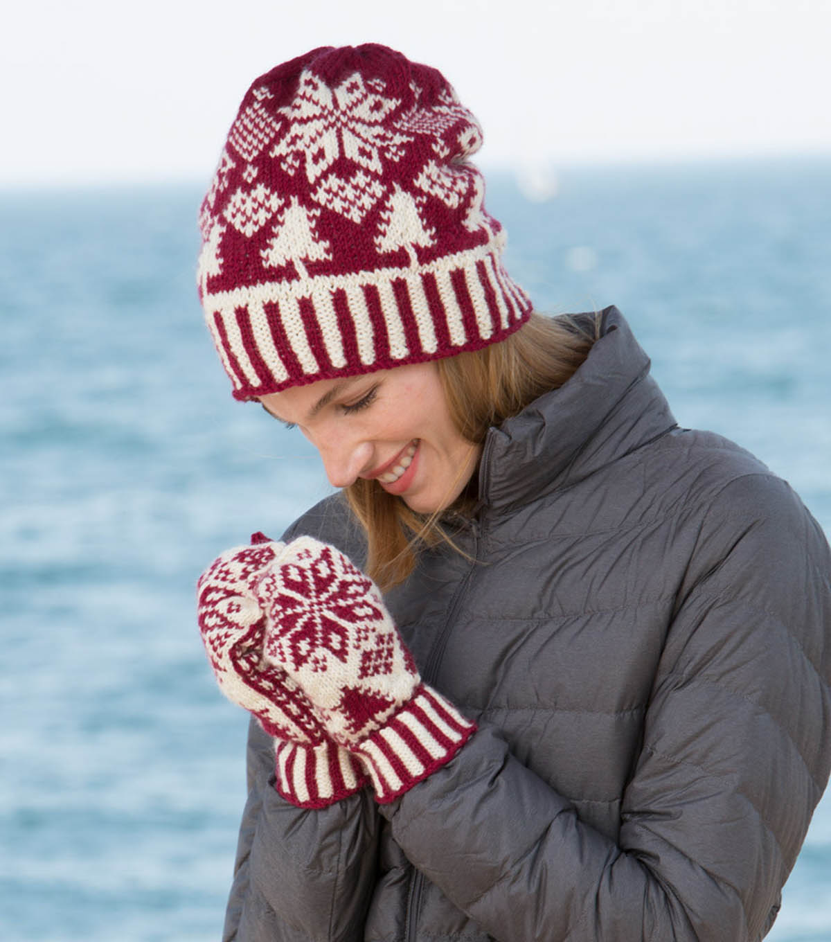 How To Make Northern Fair Isle Knit Hat And Mittens  489c1638b42c