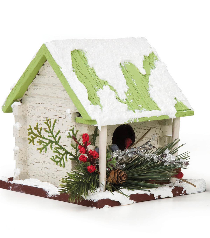 Christmas Birdhouses Crafts.Christmas Birdhouses