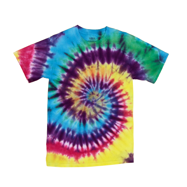 How To Make A Brilliant Spiral Tie Dye Technique T-shirt
