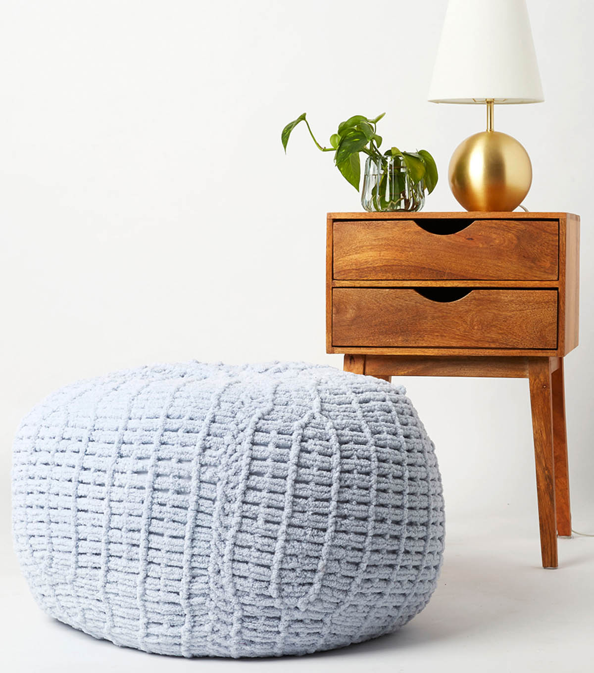 How To Make a Big Twist Loopity Loops Pouf