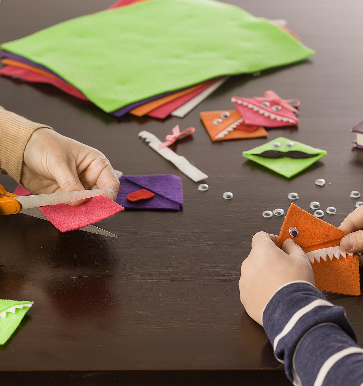 How to Make Felt Monster Bookmarks | JOANN