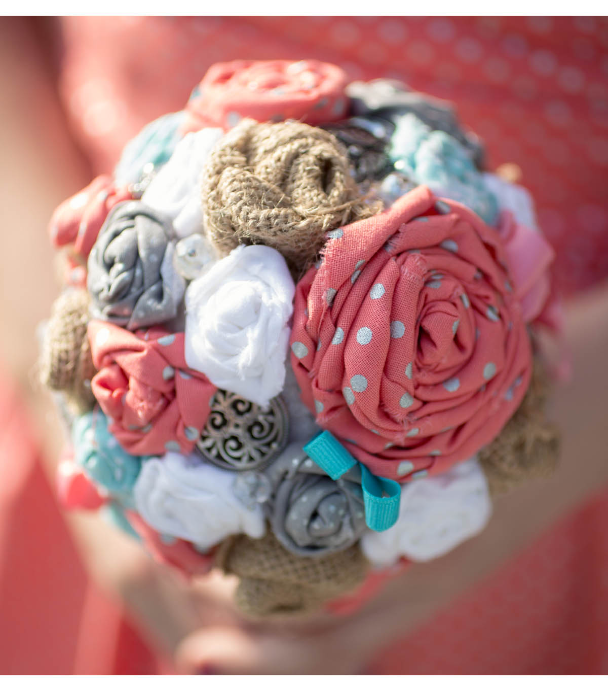 Fabric Flower Bouquet | JOANN
