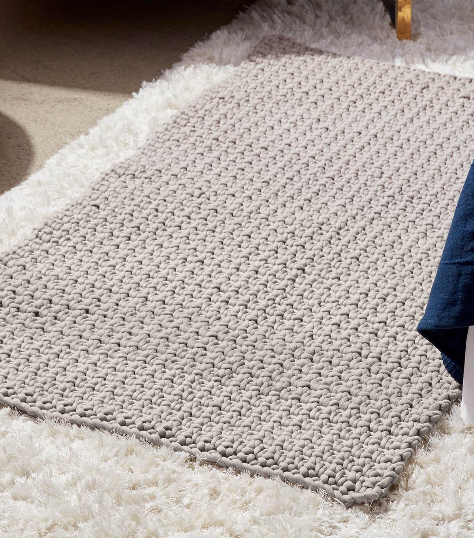 Bernat Cozy Toesies Crochet Rug