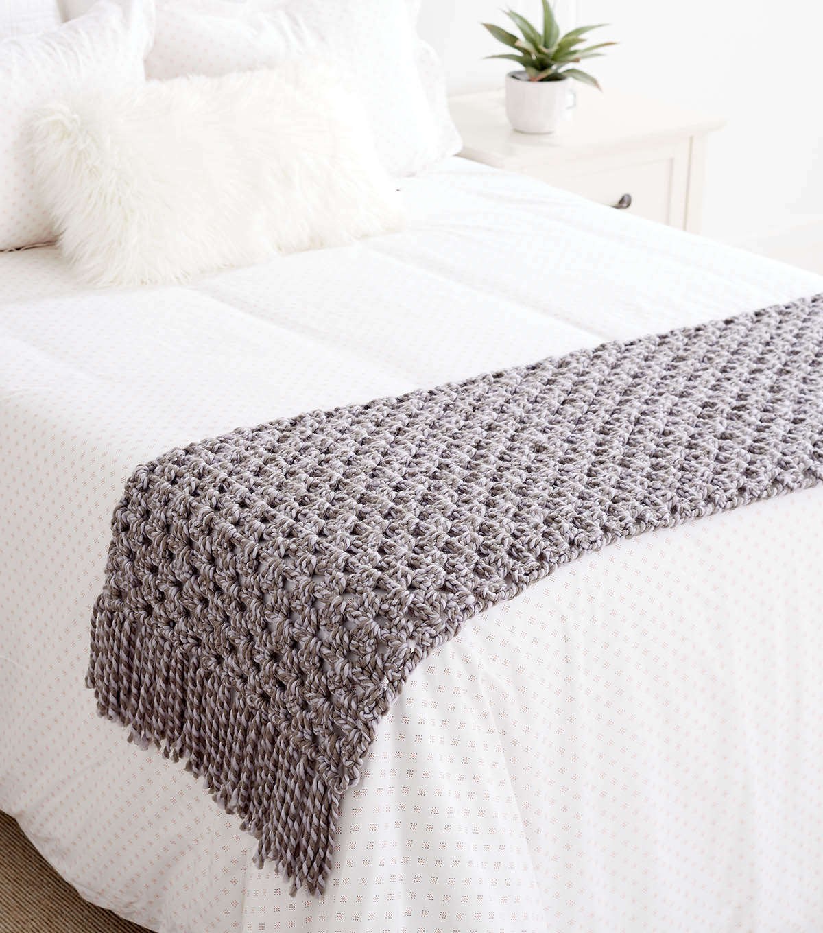 How To Crochet A Bed Scarf   JOANN