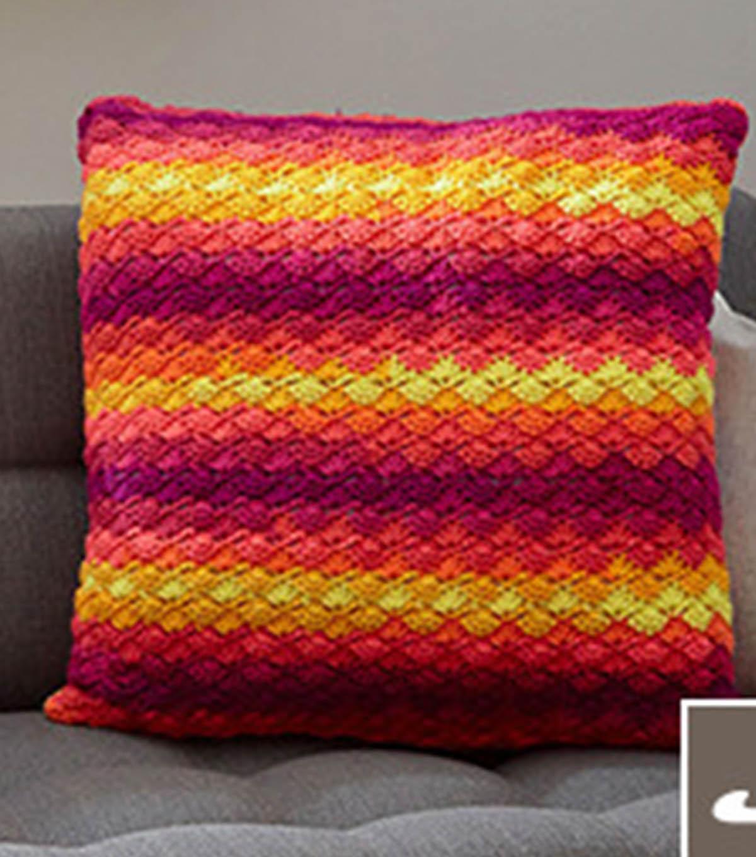 How To Crochet A Splendid Shells Pillow Joann