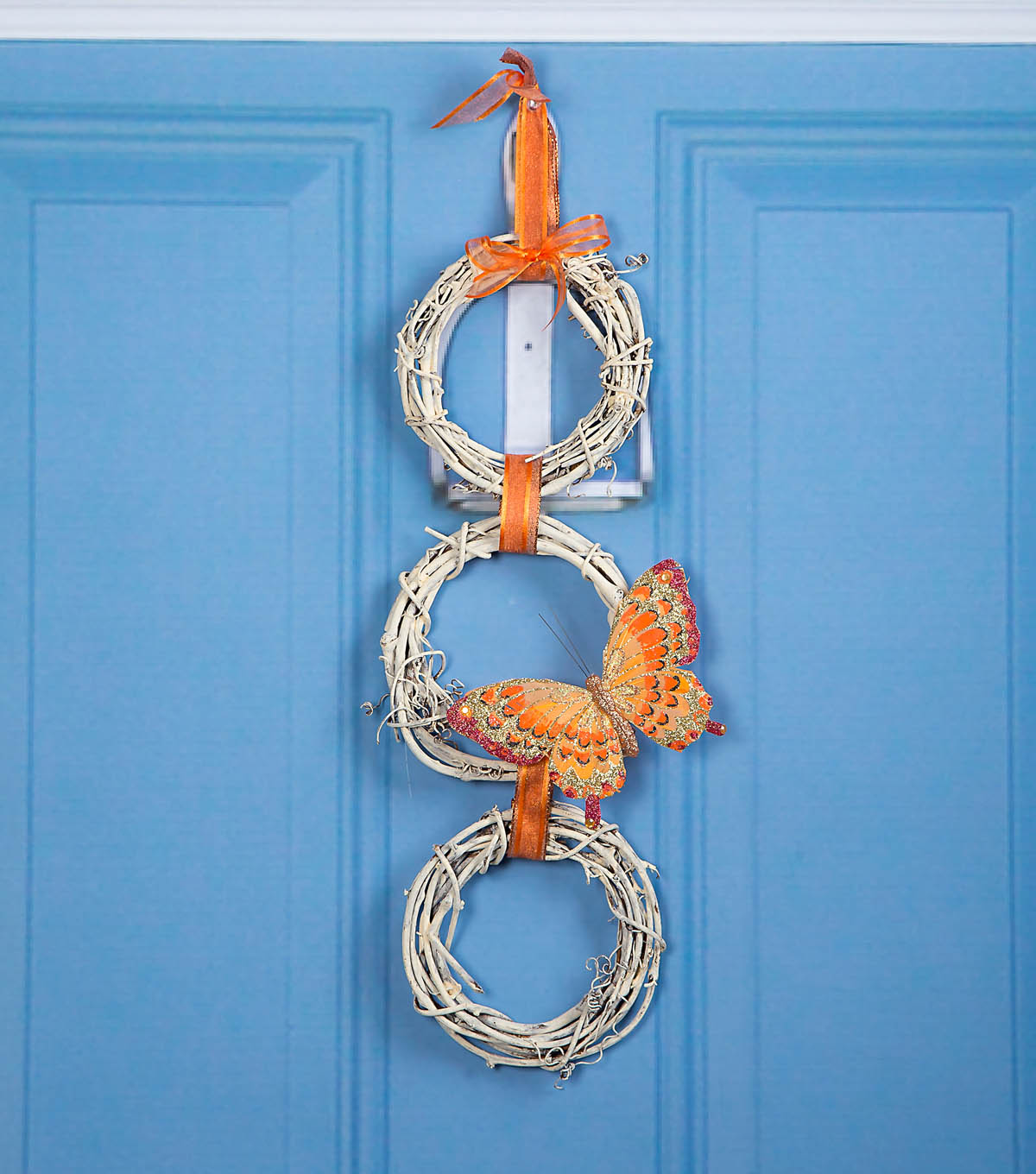 How To Make A Butterfly Trio Wreath
