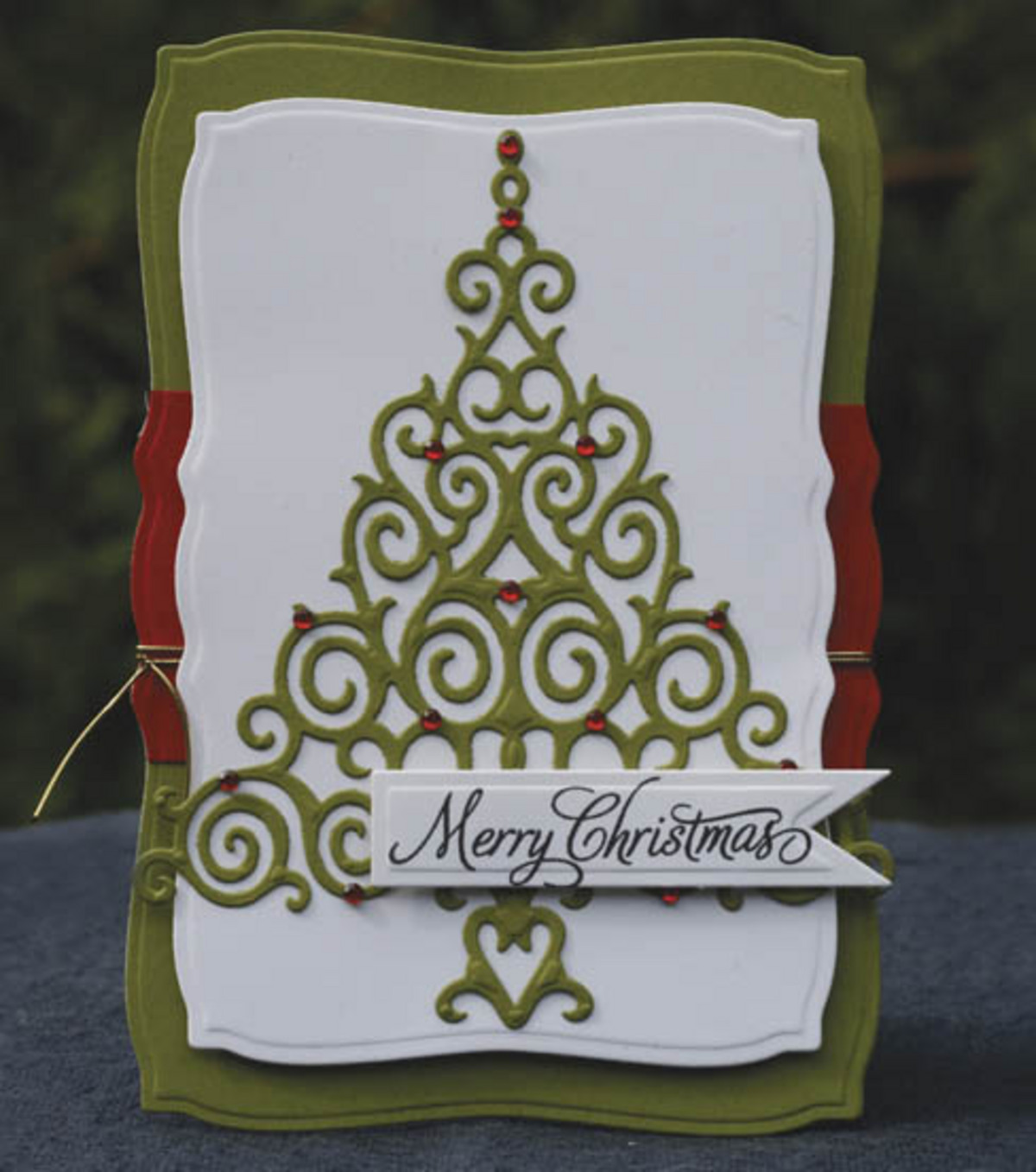 Christmas Card by Spellbinders