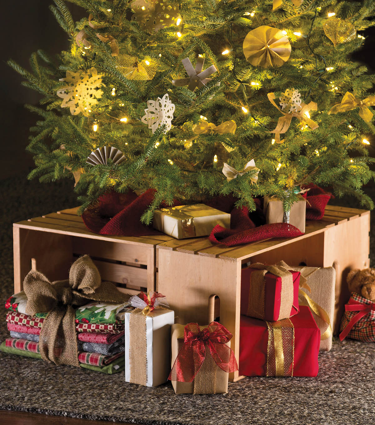 Christmas Tree Crate Stand Joann