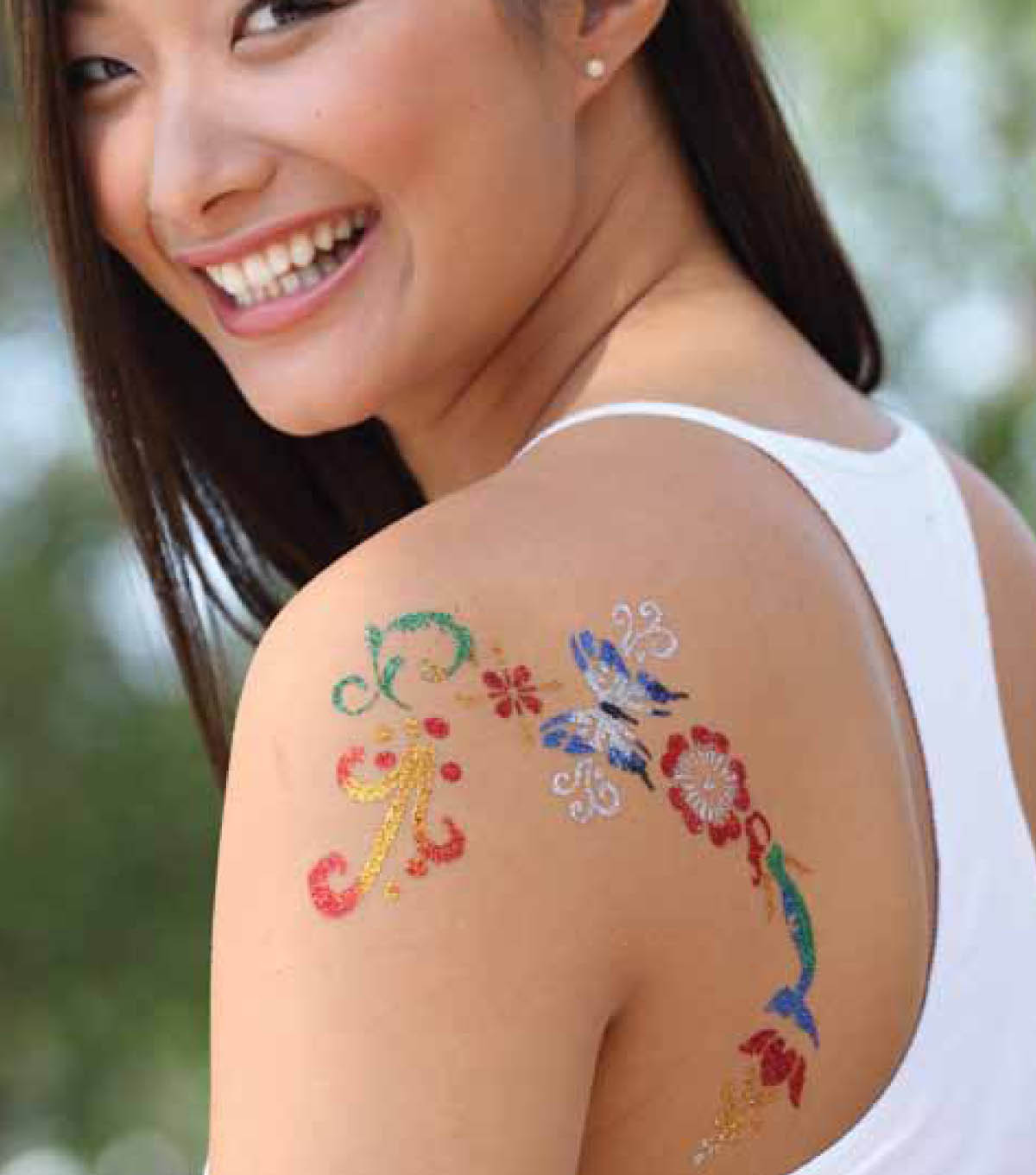 Shoulder Decor Body Art