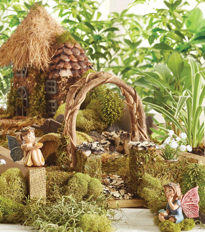 Edible Landscaping And Fairy Gardens: Traditional Fairy Garden